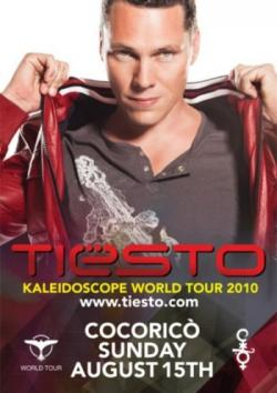 VA-Tiesto - Kaleidoscope World Tour 2010 Cocorico-Riccione