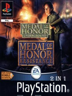 [PSone] Medal of Honor:Underground, Resistance (2 in 1)