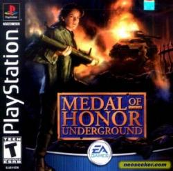 (PS1) Medal of Honor Underground (2000)