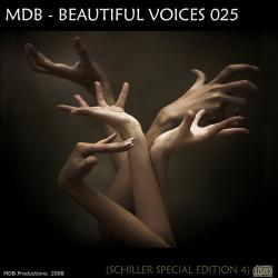 MDB - BEAUTIFUL VOICES 025 (SCHILLER SPECIAL PART 4) (2008)