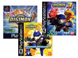 [PSone] Digimon World 1,2,3