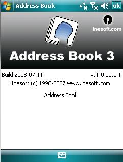 Inesoft Address Book 3 v4.0 Beta 1