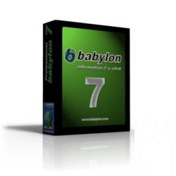 Babylon 7.0.3.23 Pro + Portable + Five Premier Dictionaries