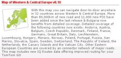 Navcore 8xx for TOMTOM + Western Central Europe 810.1907