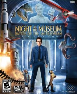 Ночь в музее 2 / Night at the Museum: Battle of the Smithsonian The Video Game (2009 3D / Arcade)