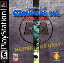 [PSP-PSX] Monsters Inc. - Scream Team
