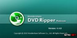Wondershare DVD Ripper Platinum 4.4.0.1