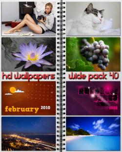 HD Wallpapers Wide Pack 40