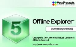 MetaProducts Offline Explorer Enterprise Edition 5.8.3158 3158