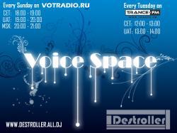 Destroller - Voice Space 61 [06.06.2010, Trance, MP3] / Скачать бесплатно