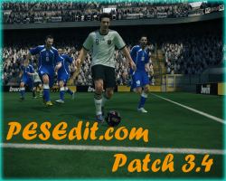 Pro Evolution Soccer 2010. PESEdit.com Patch 3.4 + DLC_1.7 + Konami patch 1.3