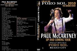 Paul McCartney - Live At The Foro Sol, Mexico 2010 DVD+CD