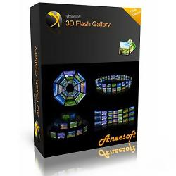 Aneesoft 3D Flash Gallery 2.2.5.13 + RUS