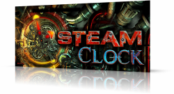 Steam Clock 3D Screensaver 1.0.0.1