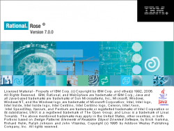 Rational Rose Enterprise 7.0.0.4