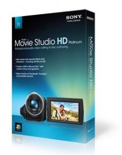 Sony Vegas Movie Studio HD Platinum 11 Production Suite 11.0.231