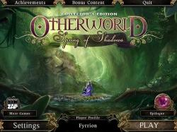 Otherworld: Spring of Shadows Collectors Edition [ENG]