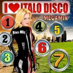 DJ Alex Mix - I Love Italo Disco Megamixes vol.1-8