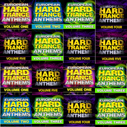 VA - European Hard Trance Anthems Vol.1-5