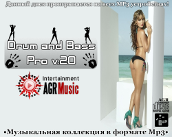 VA - Drum and Bass Pro v.20 from AGR (2013) MP3, 320 kbps