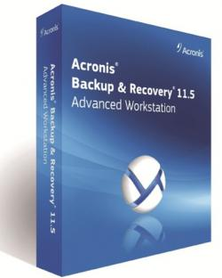 Acronis Backup & Recovery Workstation 11.5.38350 + Universal Restore