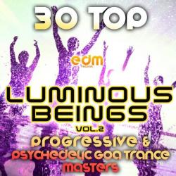 VA - Luminous Beings Vol.2 (30 Top Progressive Psychedelic Goa Trance Masters 2014)