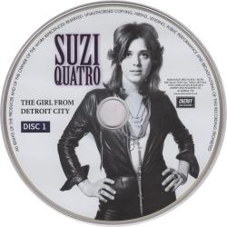 Suzi Quatro - The Girl From Detroit City (4CD)