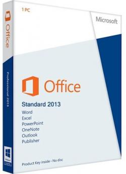 Microsoft Office 2013 SP1 Standard 15.0.4727.1001 RePack by KpoJIuK
