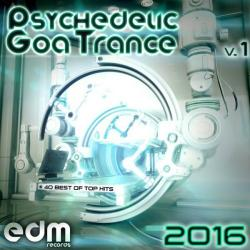 VA - Psychedelic Goa Trance 2016 Vol 1 (40 Best Of Top Hits)