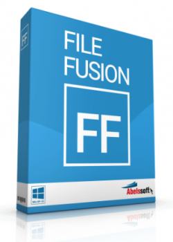 Abelssoft FileFusion 2018 Build 87 (v. 1.33) (x64) / RU / Данные и диски / 2018 / PC