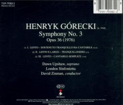 Henryk Mikolaj Gorecki - Symphony of Sorrowful Songs